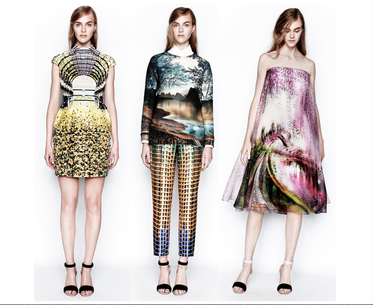 MARY KATRANTZOU (source: http://patternrecognition.co/2013/07/02/print-and-fashion-trends-2014-part-3/)