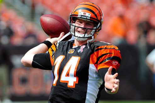 After an up-and-down season, Andy Dalton will look to lead the Bengals to an elusive playoff win