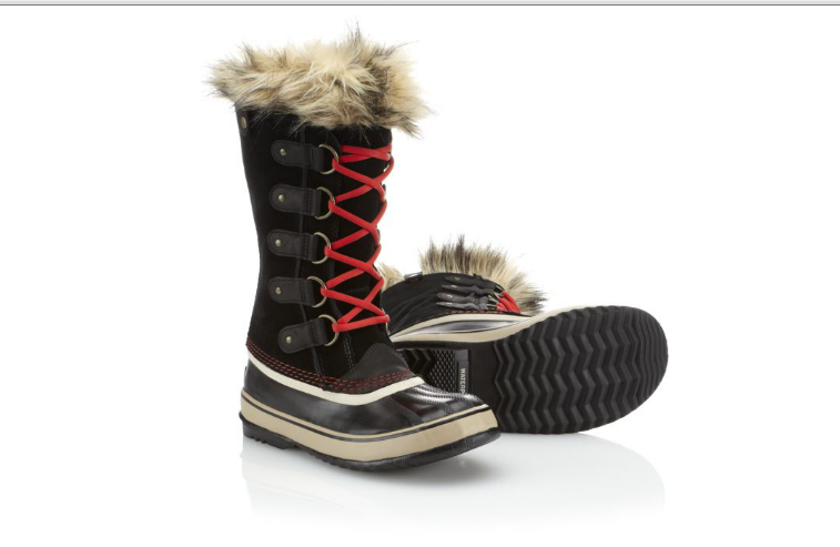 Sorel boots are stylish and warm.