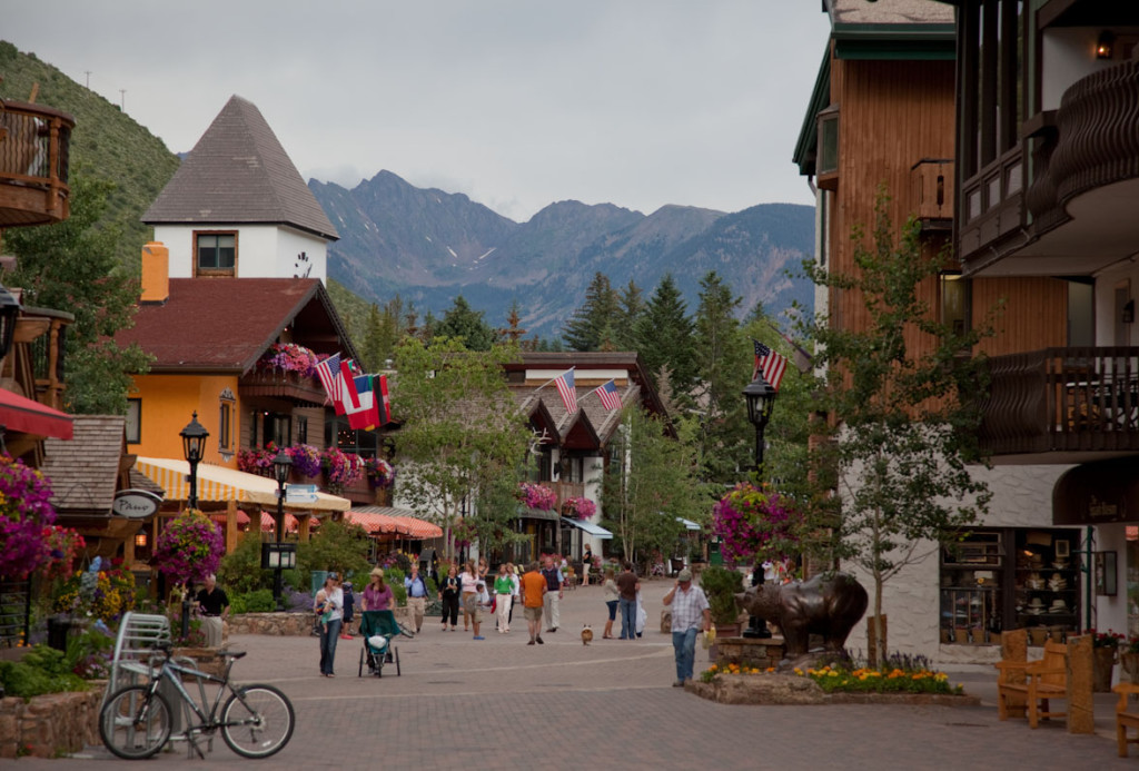 Vail, Colorado. My small-town home.