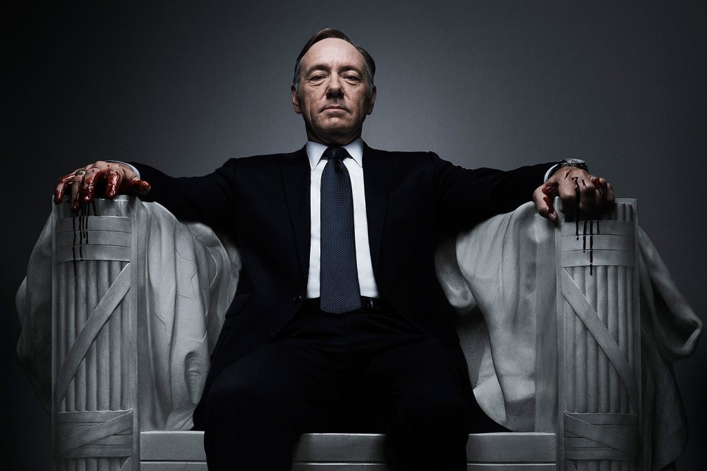 Kevin Spacey kills it in House of Cards.