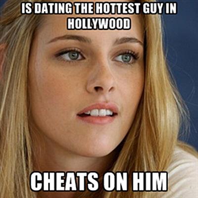 Girls do it too...even to Robert Pattinson.