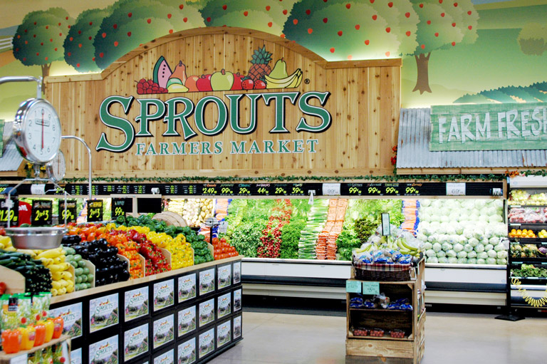 Stock up on produce at stores like Sprouts.