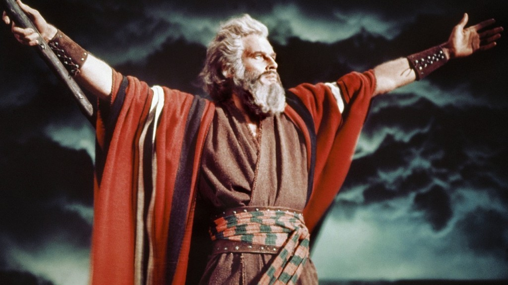 Moses sold PLENTY of movie tickets back in the day.