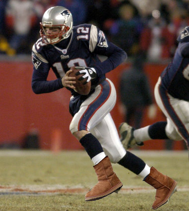 Tom Brady is man enough to wear Uggs. You should be too.