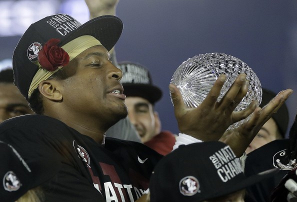 You deserve it, Jameis. But dude, get a speech writer.