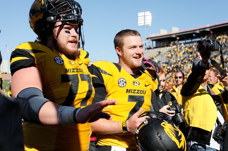 Maty Mauk was impressive while filling in for James Franklin.