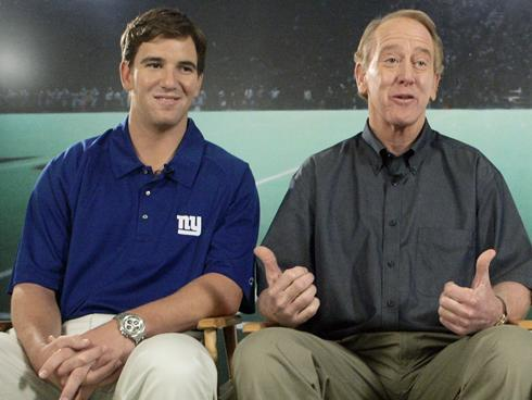 The other Manning men will get plenty of time on air.
