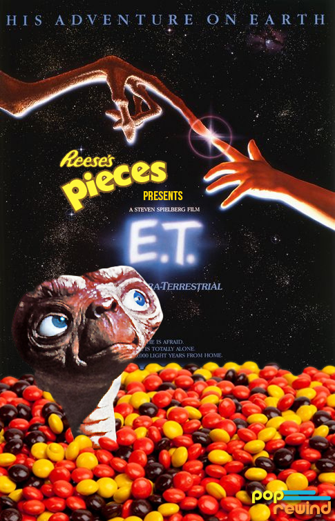 ET is about to become dependent on Reese's Pieces at the time of this photo.