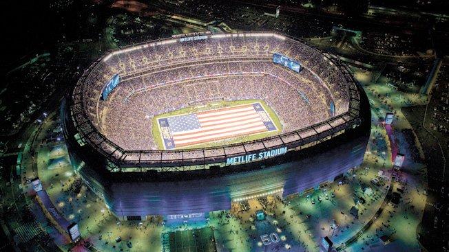 MetLife Stadium: The setting of the showdown.
